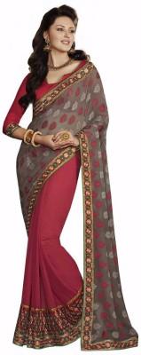 Looks & Likes Self Design Fashion Handloom Brasso Sari