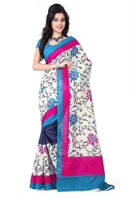Styloce Self Design Fashion Handloom Chiffon Sari