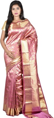 Sri Hanuman Silks Floral Print Fashion Pure Silk Sari