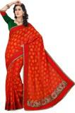 Saree Swarg Solid Bollywood Silk, Jacqua...