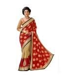 Priyankas Embroidered Bollywood Pure Geo...