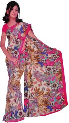 freshboss Printed Coimbatore Synthetic Sari