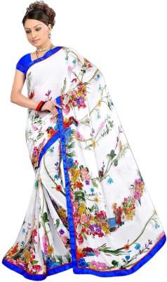 Chakradhar Sarees Self Design Fashion Polyester Sari