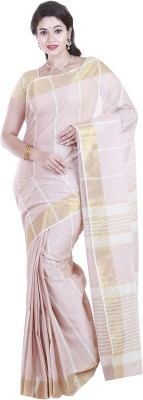 SriSyndicate Plain Fashion Cotton Sari
