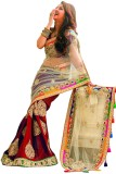 Snh Export Embroidered Bollywood Georget...