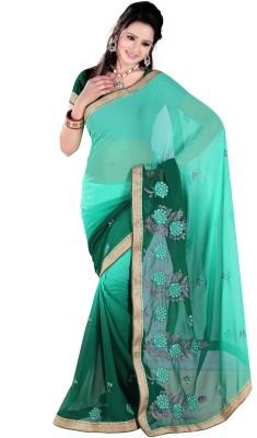 Kabeer Creation Printed Daily Wear Handloom Chiffon Sari