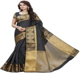 hardik Printed Assam Silk Silk Saree (Mu...