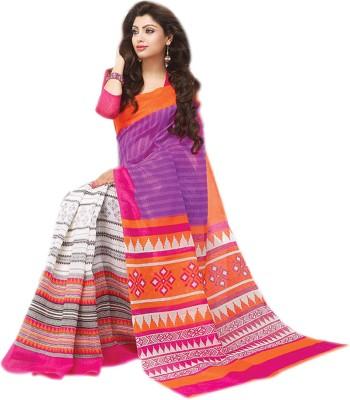 Mishri Printed Daily Wear Silk Sari