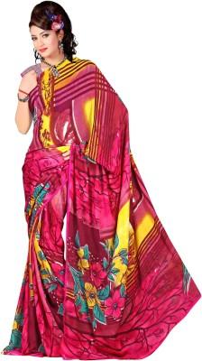 Janya Self Design Bomkai Georgette Sari