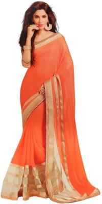 Festivemall Embellished Fashion Chiffon Sari