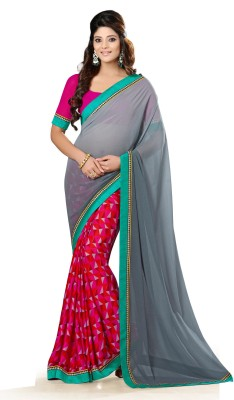Sarika Fashion Printed Fashion Georgette Sari