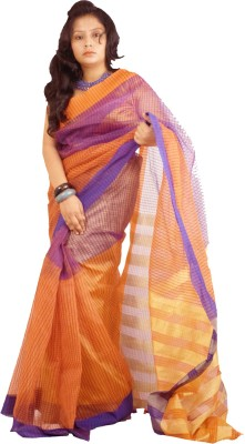 Raa Sha Self Design Tangail Art Silk Sari