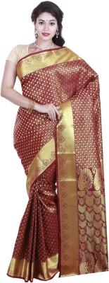 SriSyndicate Paisley Fashion Banarasi Silk Sari