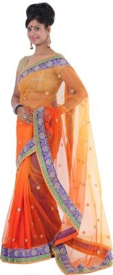 Vikrant Collections Embellished Bollywood Net Sari
