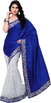 Krishna Ki Leela Solid Fashion Velvet Sari