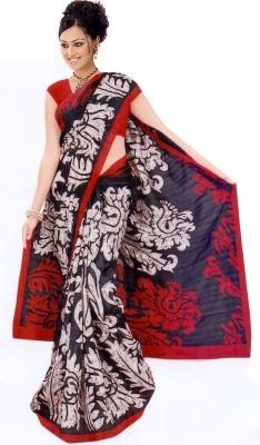 Raj Creative Graphic Print Bhagalpuri Silk Sari