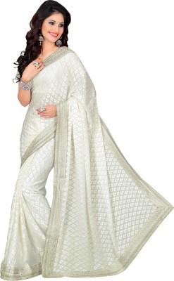 Prafful Embriodered Fashion Brasso Sari