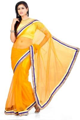 Indian Saree Solid Bollywood Net Sari