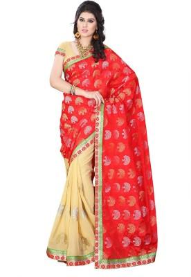 Online Adda Embriodered Fashion Jacquard Sari