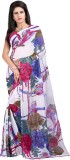 Neets fashion Printed Daily Wear Georget...