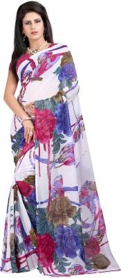 Neets fashion Printed Daily Wear Georgette Sari