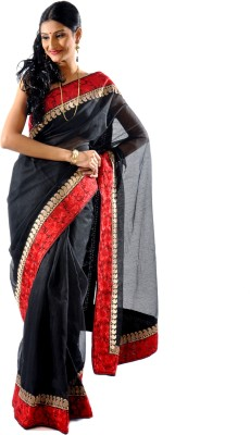 Shree Saree Kunj Solid Fashion Art Silk Sari