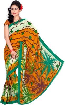 Zadine Printed Fashion Georgette Sari