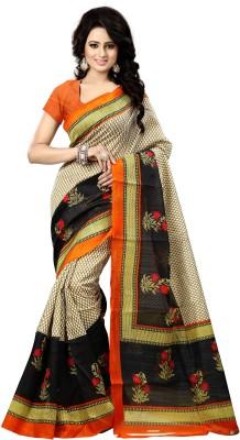 natraj Printed Bollywood Cotton Sari