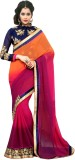 Manvaa Self Design Fashion Handloom Geor...