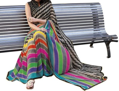 Friendly Fab Printed Fashion Art Silk Sari