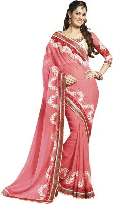 Prerana Fashion Embriodered Fashion Chiffon Sari
