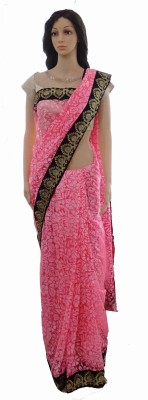 INDIANA FAB Embellished Fashion Brasso, Net Sari