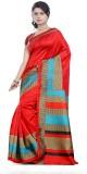 Kshama Printed Daily Wear Art Silk Sari ...