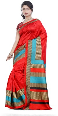 Kshama Printed Daily Wear Art Silk Sari
