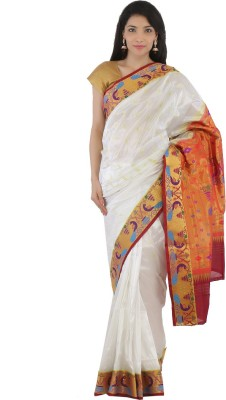 Aruna Fashions Woven Paithani Handloom Art Silk Sari