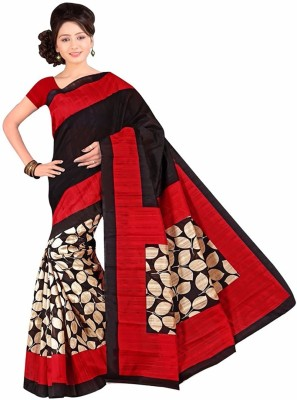 Fashion On Sky Printed Bhagalpuri Silk Sari