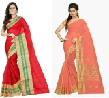Stylish Sarees Self Design, Solid Fashio...