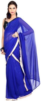Fidubi Embriodered Fashion Georgette Sari