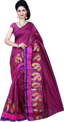 Deal Fashion Self Design Fashion Banarasi Silk Sari