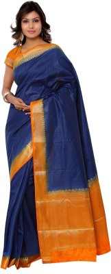 Vastrani Self Design Fashion Raw Silk Sari