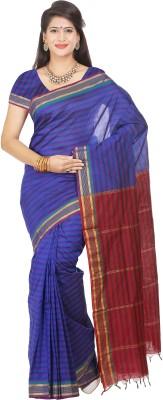 Maxsarees Striped Bollywood Art Silk Sari