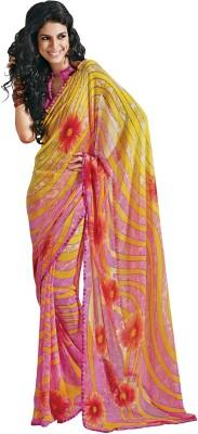 Deshna Printed Fashion Georgette Sari