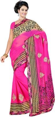 JK Fabrics Printed Fashion Chiffon Sari