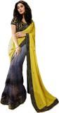 FashionFiza Embroidered Fashion Georgett...