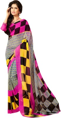 NARAYANA Printed Daily Wear Georgette Sari