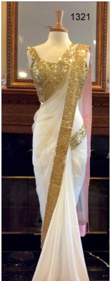 Khushi Embriodered Bollywood Georgette Sari