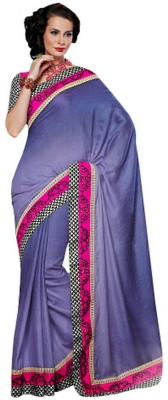 RG DESIGNERS Embriodered Fashion Viscose Sari