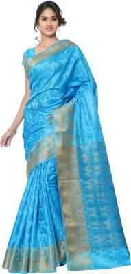 MINAXI Self Design Bhagalpuri Brasso Sari