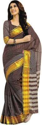 Jannat Self Design Fashion Cotton Sari