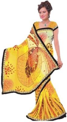 Fashion Fiasta Printed Fashion Georgette Sari